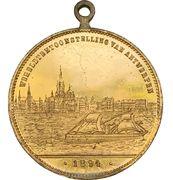 Medal - Exposition Internationale d'Anvers 1894 – reverse