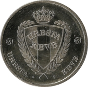 Token - URBSFA / KBVB (Georges Leekens) -  reverse