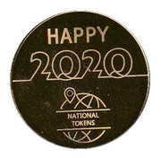 Token - National Tokens Christmas Card (Happy 2020) – obverse