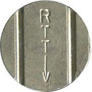 Telephone Token - RTT (center) – obverse