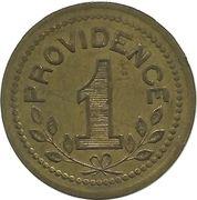 1 Franc - Forges de la Providence -  reverse