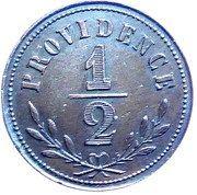 ½ Franc - Forges de la Providence -  reverse