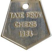 Dog Tax Token (Liège) – reverse