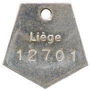 Dog Tax Token (Liège) – obverse