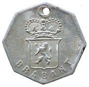 Dog Tax Token (Brabant) – obverse