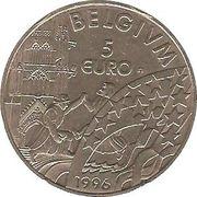 5 Euro - Albert II -  reverse