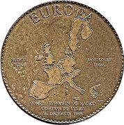 1 Euro (Europa) – obverse