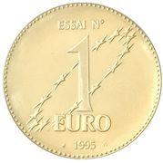 1 Euro (Europa) – reverse
