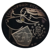 European ECU (Brabant - Belgium) – reverse