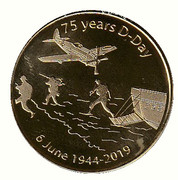 Token - National Tokens (75 Years D-Day) – obverse