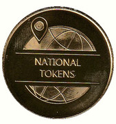 Token - National Tokens (75 Years D-Day) – reverse