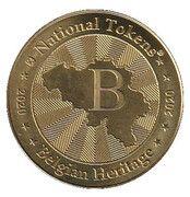 National Tokens Belgian Heritage - Arlon – reverse