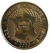 Monnaie de Paris Tourist Token - Bellewaerde (Wakala) – reverse