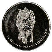 National Tokens Belgian Heritage - Han-Sur-Lesse (Wolf) – obverse