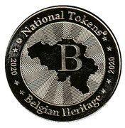 National Tokens Belgian Heritage - Han-Sur-Lesse (Wolf) – reverse