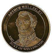 National Tokens Belgian Heritage - Waterloo (Arthur Wellesley – Duke of Wellington) – obverse
