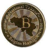 National Tokens Belgian Heritage - Waterloo (Arthur Wellesley – Duke of Wellington) – reverse