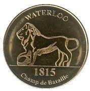 National Tokens Belgian Heritage - Waterloo (Champ de Bataille – 1815) – obverse