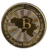 National Tokens Belgian Heritage - Waterloo (Champ de Bataille – 1815) – reverse