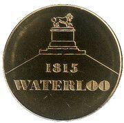 National Tokens Belgian Heritage - Waterloo (Waterloo 1815) – obverse