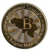 National Tokens Belgian Heritage - Waterloo (Waterloo 1815) – reverse