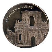 National Tokens Belgian Heritage - Thuin (L'Abbaye d'Aulne) – obverse