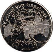 National Tokens Belgian Heritage - Lennik (Kasteel van Gaasbeek) – obverse