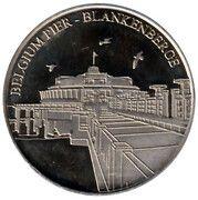 National Tokens Belgian Heritage - Blankenberge (Belgium Pier) – obverse