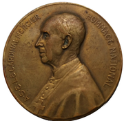 Medal - Cardinal Mercier – obverse