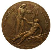 Medal - Cardinal Mercier – reverse
