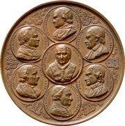 Medal - Foundation of the Catholic University of Leuven – obverse