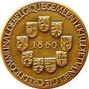 Medal - Crédit Communal de Belgique – reverse