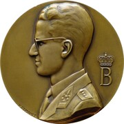 Medal - 100 years of Crédit Communal – obverse