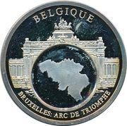 Token - European Currencies (Belgium - Brussels, Arc de Triomphe) – obverse