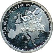 Token - European Currencies (Belgium - Brussels, Arc de Triomphe) – reverse