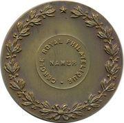 Medal - Namur Cercle Royal Philatelique – reverse