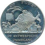 100 Stoeten - Antwerpen (Rode Poort) – reverse
