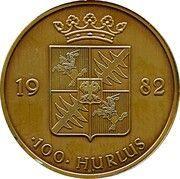 100 Hurlus - Mouscron – reverse