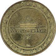 Jeton - Les Numismates de Bruxelles 2007 – reverse