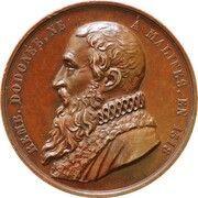 Médaille Société d'Horticulture de Malines – obverse