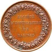 Médaille Société d'Horticulture de Malines – reverse