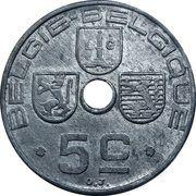 5 Centimes - Léopold III (BELGIQUE-BELGIE) – reverse