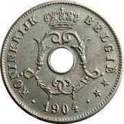 10 Centimes - Léopold II (Dutch text - Large date) -  obverse