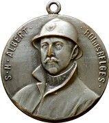Médaille Roi Albert (Expo Bruxelles 1935) – obverse
