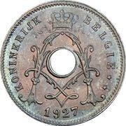 5 Centimes - Albert I (Dutch text) – obverse