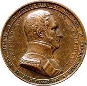 Médaille - Réforme parlementaire – obverse