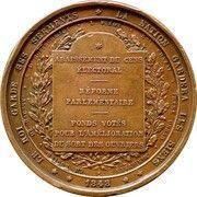 Médaille - Réforme parlementaire – reverse