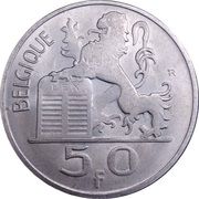 50 Francs - Baudouin I (French text) -  obverse