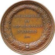 Médaille Jean François Loos – reverse