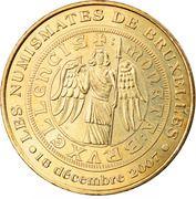Jeton Touristique - Monnaie de Paris - Bruxelles - Les Numismates de Bruxelles – obverse